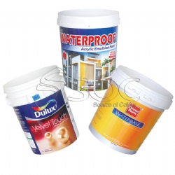 In mould label for buckets