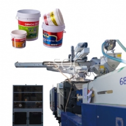 Top entry labeling machine